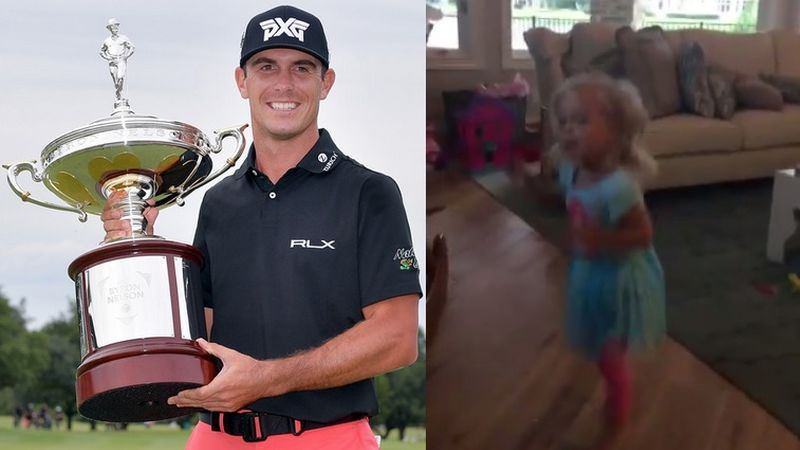 Billy Horschel Daughter Collage