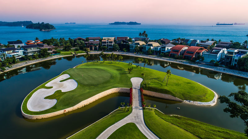 17Th Hole The New Tanjong
