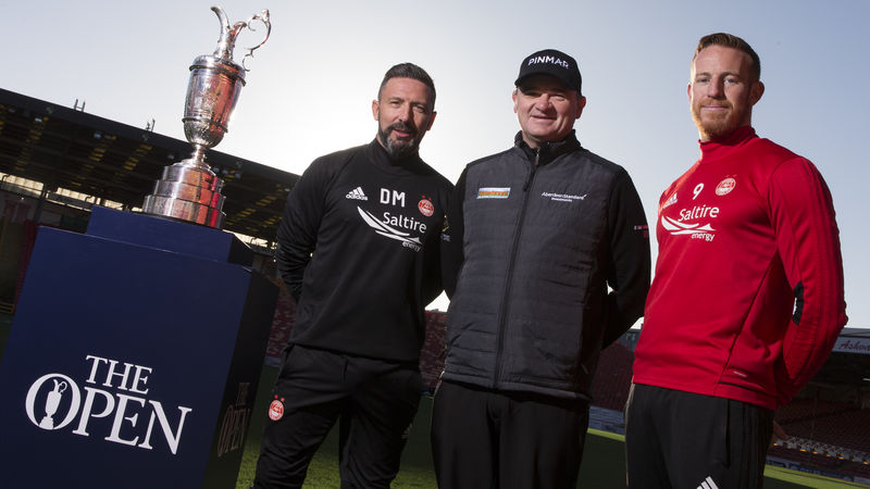 The Open And Aberdeen Football Club Partnership