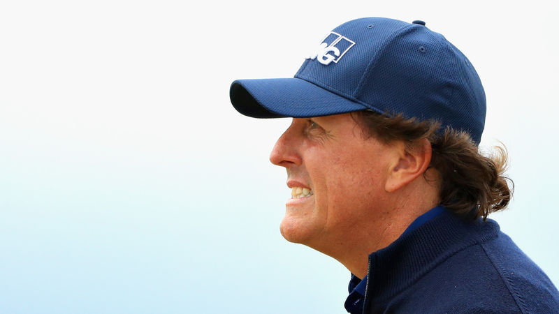 Phil Mickelson Scottish Open 2018