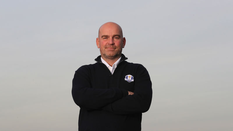 Thomas Bjorn Captain