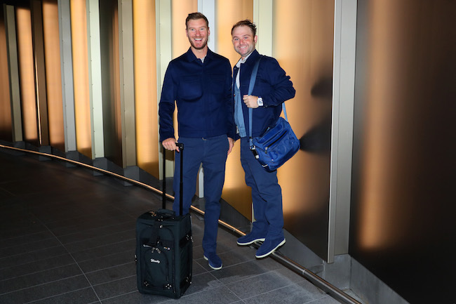 European Ryder Cup Team Departure