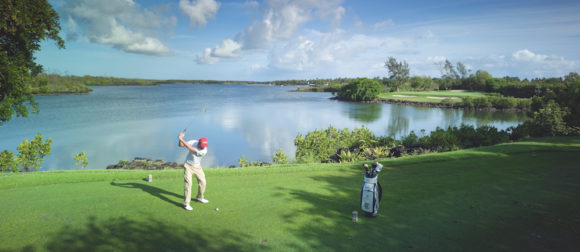 17Th Hole Legend Golf Course At Constance Belle Mare Plage