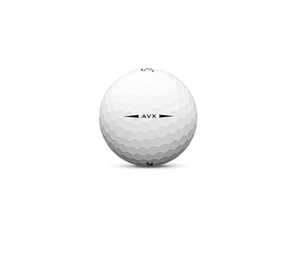 Avx White Golf Ball Sidestamp