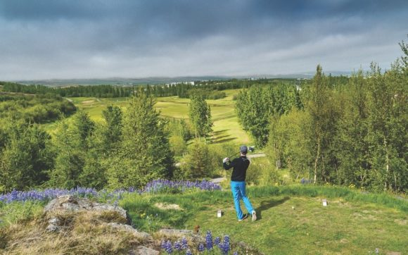 Akureyri Golf Course Iceland