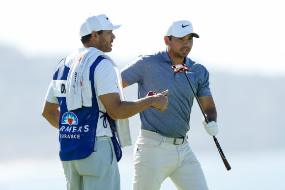 Jason Day And Caddie
