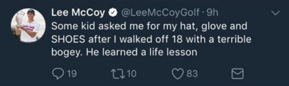 Lee Mc Coy Life Lesson
