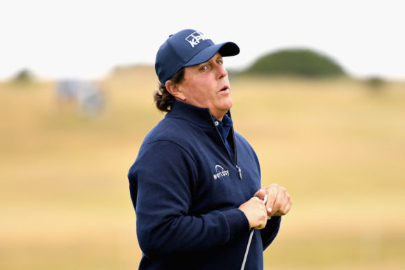 Phil Mickelson Scottish Open 2018 2