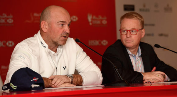 Thomas Bjorn Keith Pelley