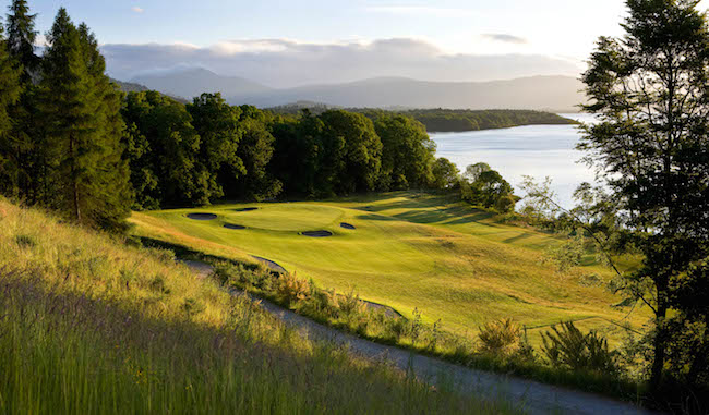 The Carrick on Loch Lomond 14th hole