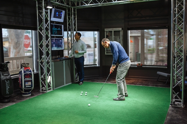 Tour fitting experience at the Scotty Cameron Gallery