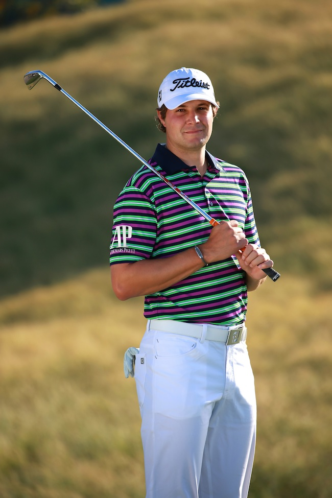 FootJoy collection modelled by Peter Uihlein
