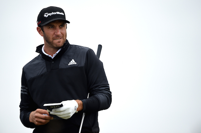 Dustin Johnson Open