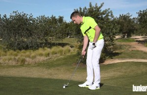WATCH: How to chip from a bare lie