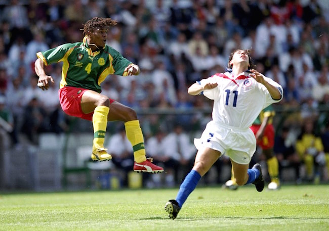 Rigobert Song of Cameroon