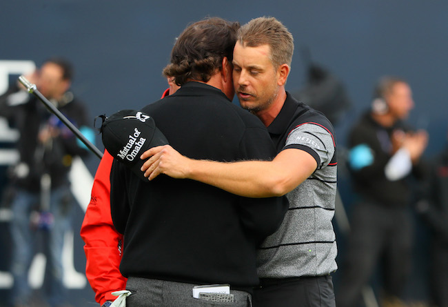 Stenson, Mickelson forever linked after epic Open duel
