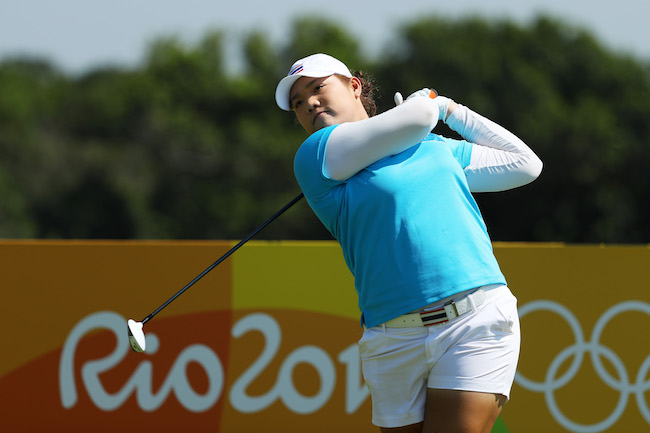 Ariya leads as women take golf stage after 116 years
