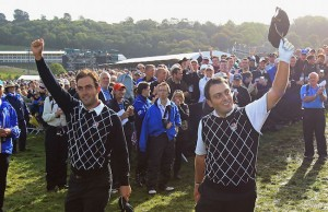 Afternoon Foursome Matches-2010 Ryder Cup