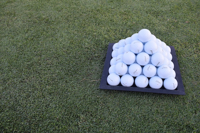 Titleist ball pyramid