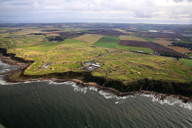 Castle Course St Andrews Aerials
