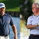 Lee Westwood And Colin Montgomerie
