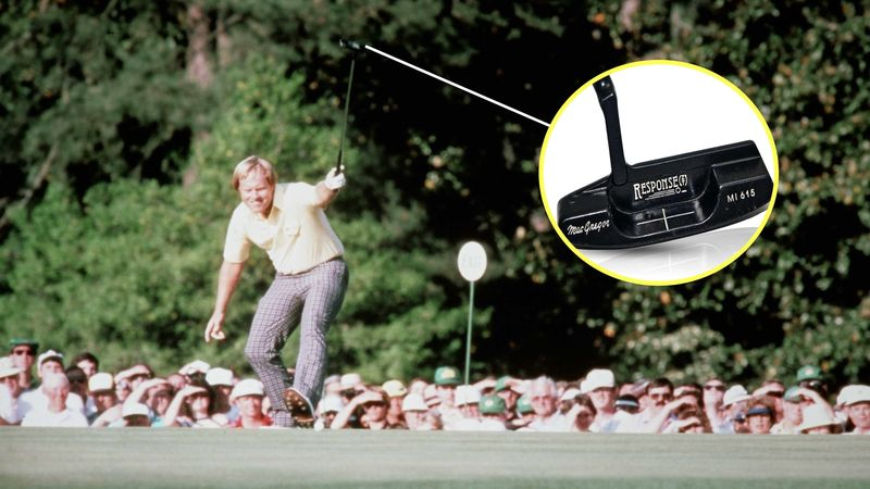 Jack Nicklaus 1986 Masters Putter