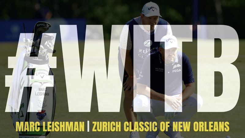 Marc Leishman Witb Zurich Classic