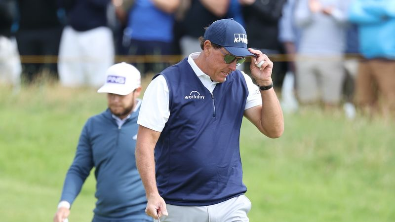 Fuel the jet! - 8 big names who missed The Open cut ...