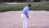 Get down low in bunkers
