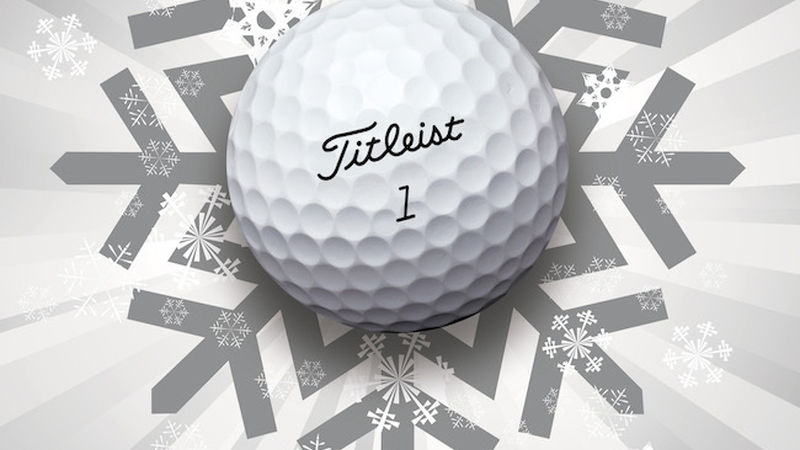2014 10 Titleist Free Christmas Golf Ball Personalisation Offer 2014