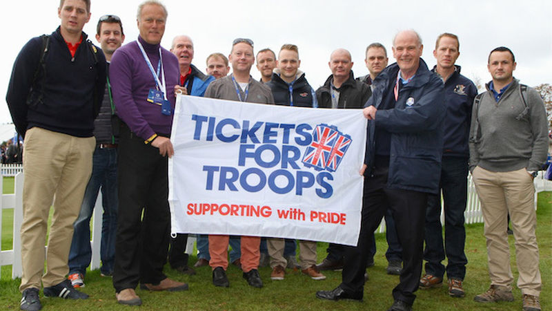 2014 10 Ryder Cup Tickets Troops