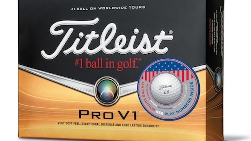 2014 05 Titleist Pro V1 Limited Edition U S Open 66 Dozen Box
