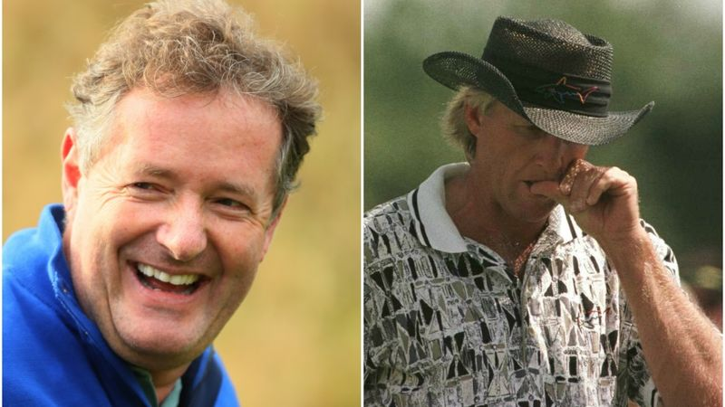 Piers Morgan Greg Norman Copy