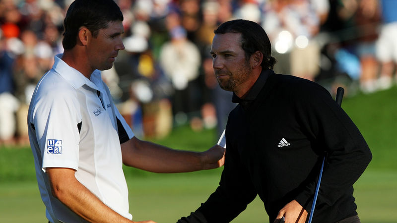 Padraig Harrington Sergio Garcia