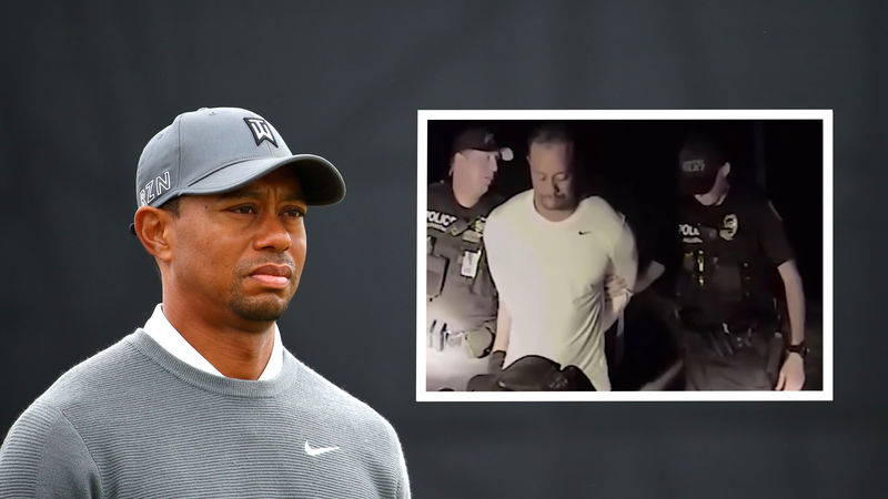 Tiger Woods Collage