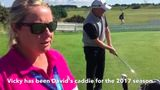 David & Vicky Drysdale spill beans on player-caddie relationship