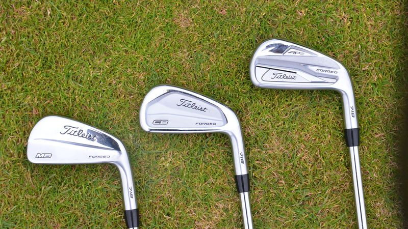 Titleist 718 AP2, CB, MB review - bunkered co uk