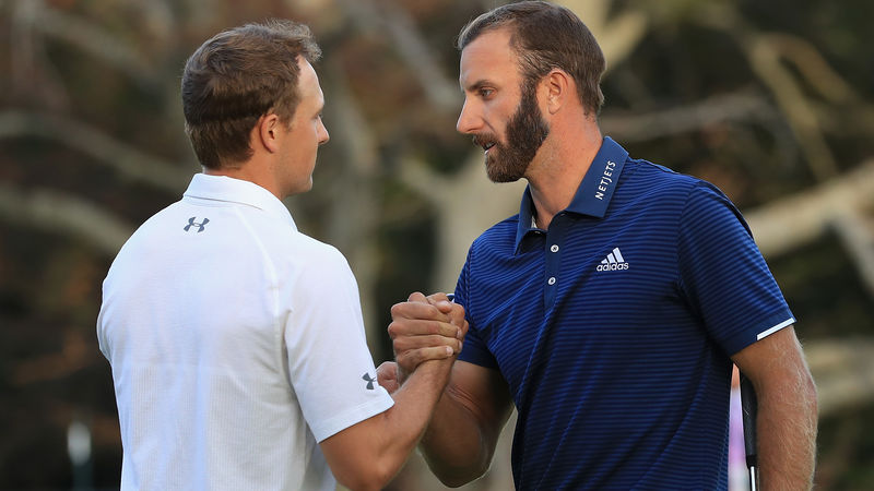Dustin Johnson Jordan Spieth