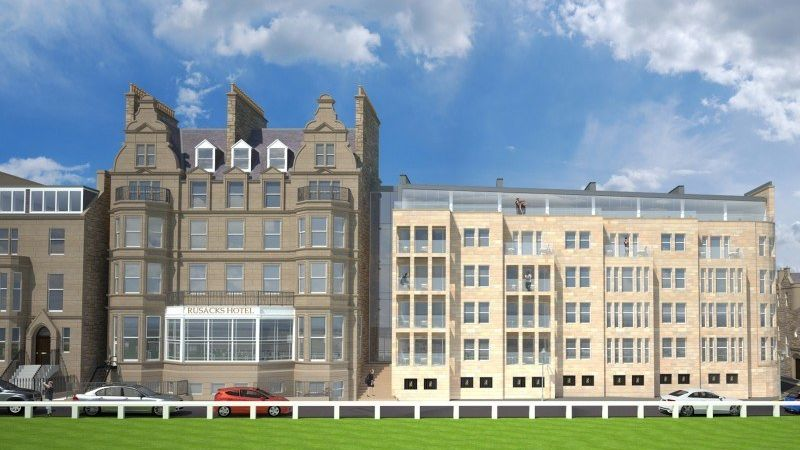Macdonald Rusack Hotel Proposed Extension View E1440165213992