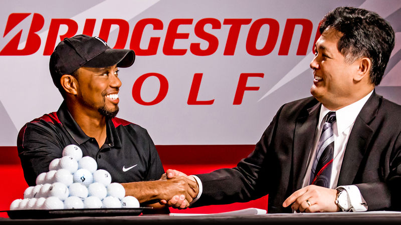 Tiger Woods Bridgestone Golf Balls 1