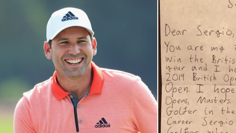 Sergio Fan Mail Collage