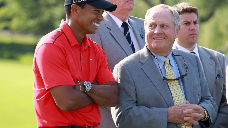 Tiger Woods Jack Nicklaus