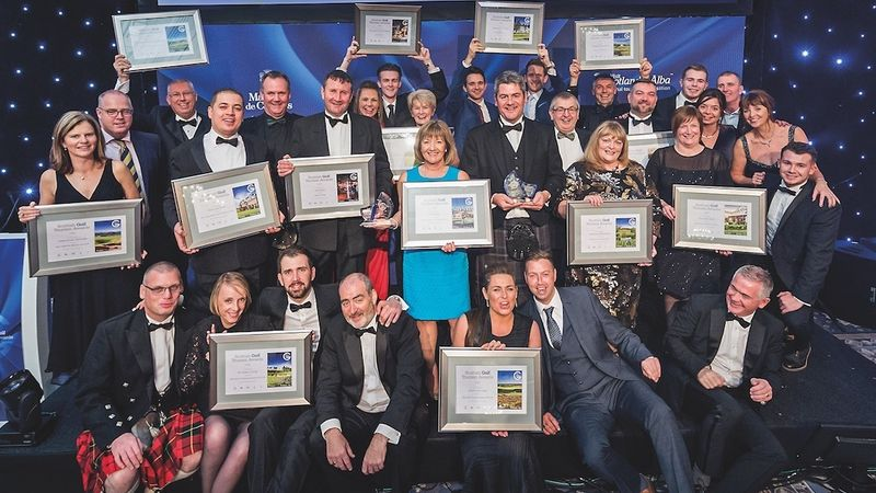 Scottish Golf Tourism Awards 2017