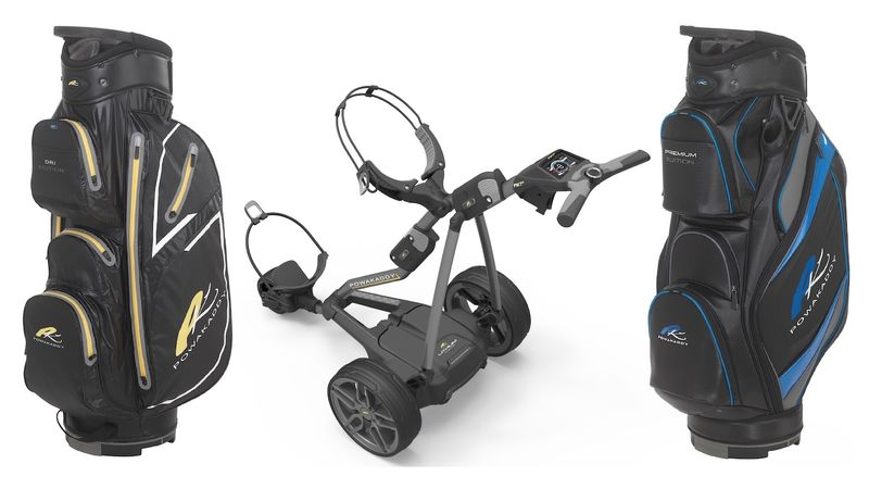 PowaKaddy launches amazing FREE BAG promotion - bunkered co uk