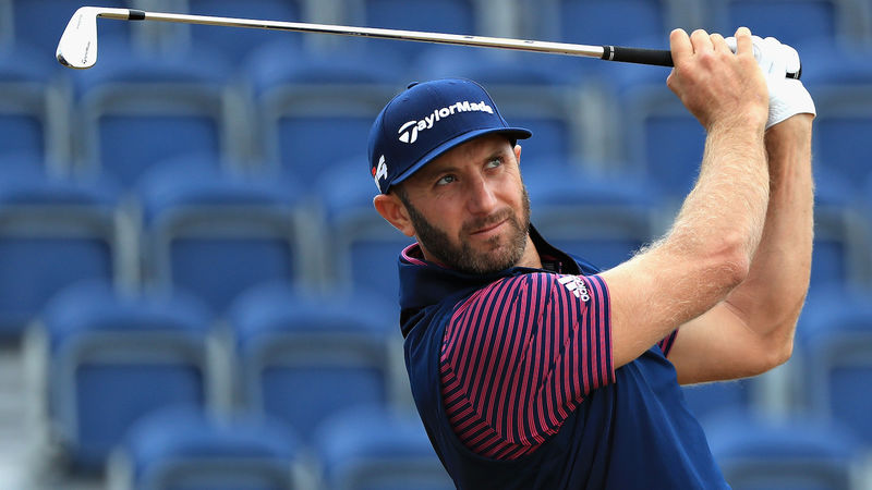 Dustin Johnson Carnoustie