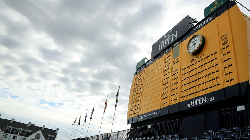 Carnoustie Leaderboard