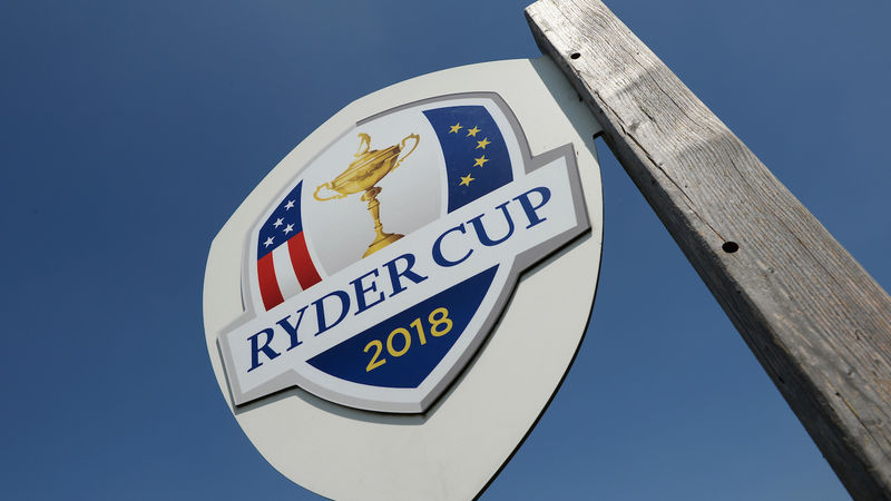 2018 Ryder Cup Signpost