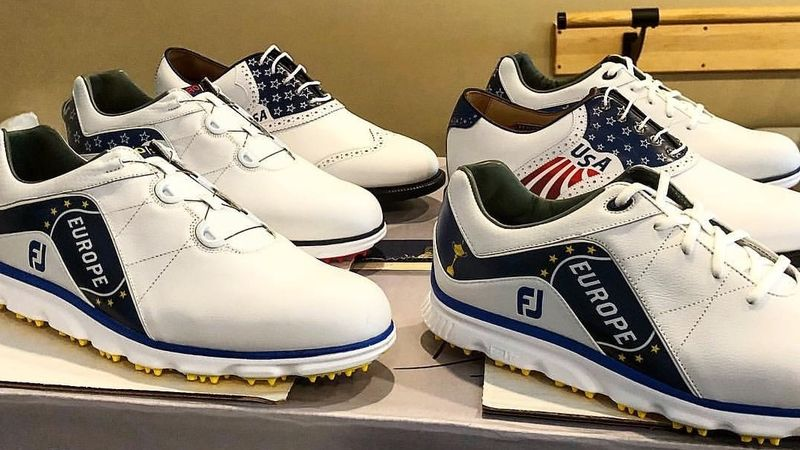 Poulter Ryder Cup Shoes