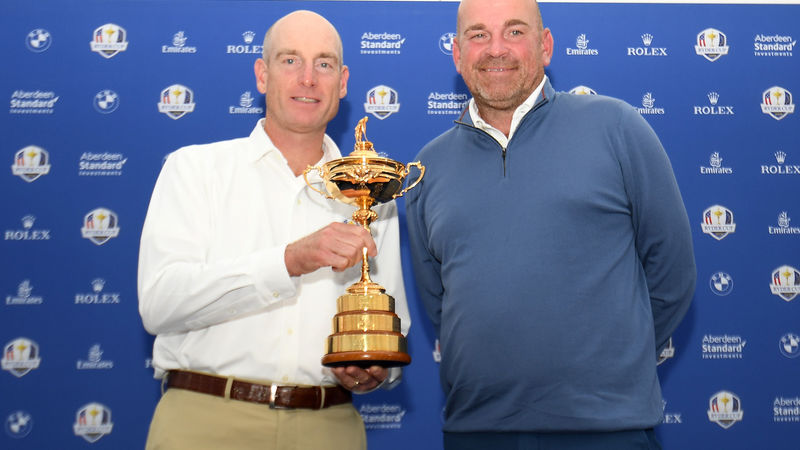 Ryder Cup Bjorn And Furyk