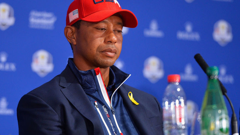 Tiger Woods Ryder Cup 2018